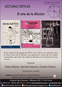 Exordio en Descartes 2016